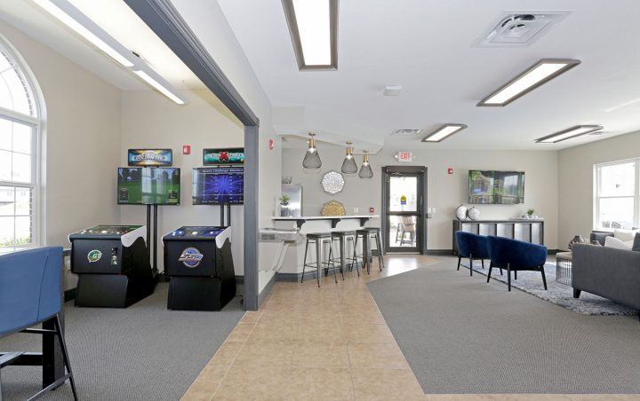 Clubhouse with Game Room